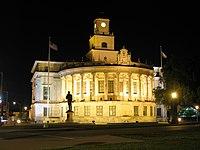 Coral Gables City Hall at night.jpg