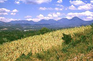 Cordillera de Apaneca - Cordillera de Apaneca Volcano Range