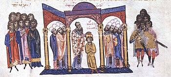 Coronation of Constantine VII
