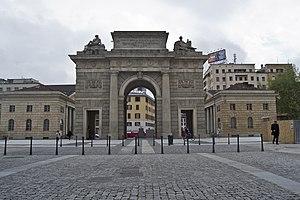 Porta Garibaldi (Milan city gate) - Porta Garibaldi