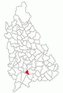 Costeștii din Vale Commune in Dâmbovița, Romania