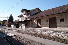 Court railroad station