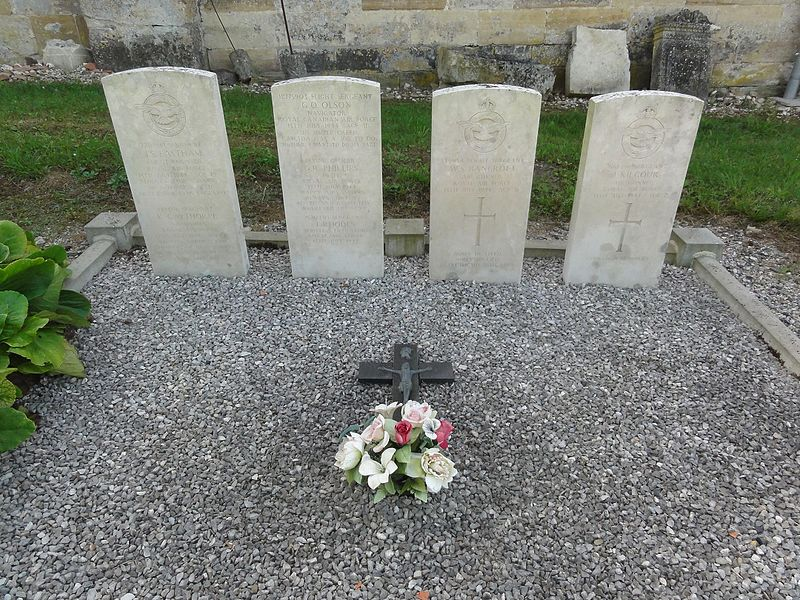 Couvonges (Meuse) tombes CWGC