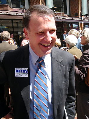 Creigh Deeds - Democratic Senator Creigh Deeds preparing to formally announce his candidacy for Virginia Attorney General at an event in Charlottesville, Virginia.