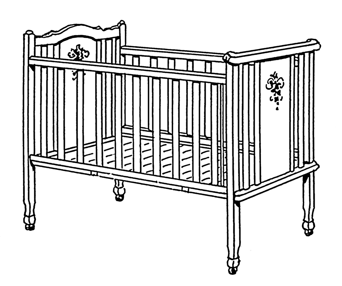 Antique Baby Cribs Infant Bed Wikipedia