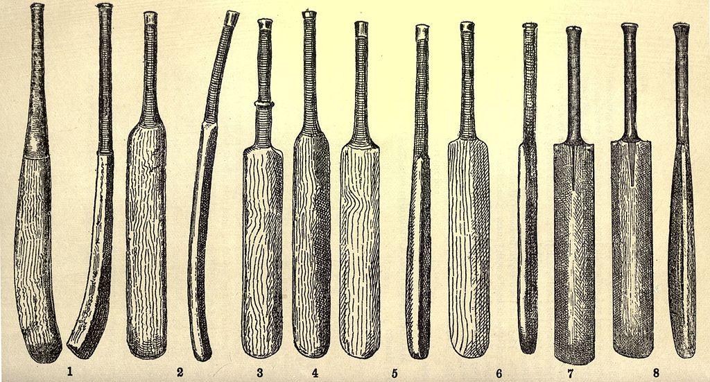 Old cricket Bats