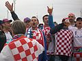 Croatian supporters before Croatia - Italy match, Poznań, June 14, Euro 2012 4.JPG
