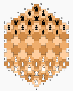 Cross chess chess variant