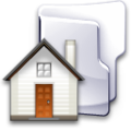 Crystal Clear filesystem folder home2.png