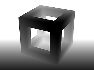 Depth map - Image: Cubic Frame Stucture and Floor Depth Map