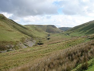 Cambrian Mountains - View near Cwmystwyth