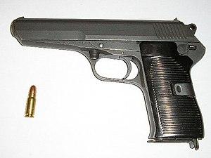 Vz.52/CZ 52 - самозарядный пистолет, разработанный в начале пятидесятых годов для чехословацкой армии.