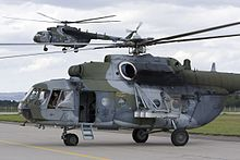 Czech Air Force Mil Mi-171Sh Ostrava 2007 Vanzura.jpg
