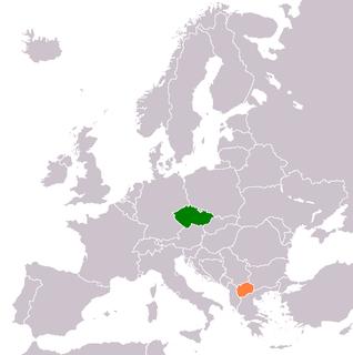 Czech Republic–North Macedonia relations Diplomatic relations between the Czech Republic and the Republic of North Macedonia