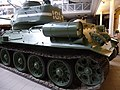 Czechoslovak-produced T-34-85 tank at the Imperial War Museum London 2.jpg