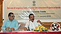 D.V. Sadananda Gowda chairing a meeting to review the progress of implementation of ongoing Central Sector Infrastructure Projects in Kerala, in Thiruvananthapuram.jpg