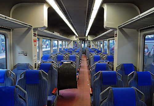 Sprinter train interior, November 2007 (photo by Jb17kx, via Wikimedia Commons)