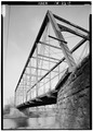 DETAIL VIEW FROM SOUTHWEST - Wabash River Bridge, State Route 316 and Wabash River, Vera Cruz, Wells County, IN HAER IND,90-VECRU.V,1-8.tif