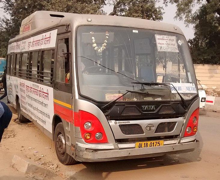 Delhi Metro Feeder Bus