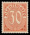 DR-D 1920 20 Dienstmarke.jpg