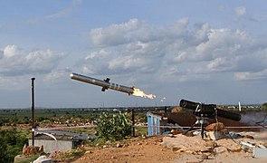 DRDO flight tests MPATGM in the ranges of Kurnool, Andhra Pradesh on September 11, 2019.jpg