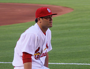 Anthony Reyes - Reyes with the St. Louis Cardinals
