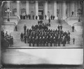 Dakota delegation on steps of the U.S. Capitol Building. - NARA - 523640.tif
