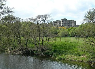 Dalquharran Castle - View from the south