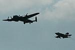 Dambusters 70th Anniversary formation - Waddington 2013 (9266098856).jpg