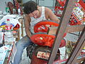 Damiano Rotella, pittore - ruote di carretto siciliano.JPG