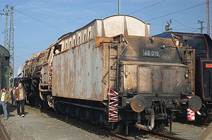 DRG Class 45 - Condition of 45 010 after the great fire