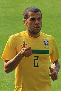 Dani Alves - 2011 - Scotland v Brazil (edited).jpg