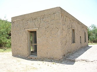 National Register of Historic Places listings in Brewster County, Texas - Image: Daniels Farm House TX NPS