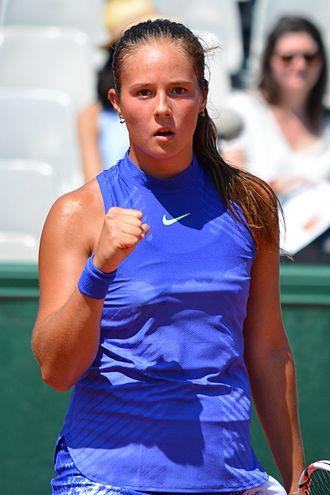 Daria Kasatkina - Kasatkina at the 2017 French Open