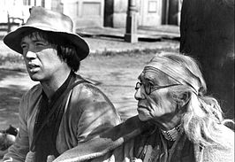 David Carradine en Dan George