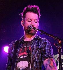 David Cook At Belly Up Tavern In San Diego Ca In 2015