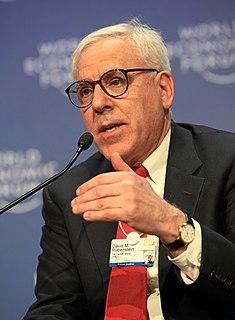 David Rubenstein American financier and philanthropist (born 1949)