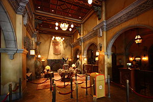 Hollywood Land - Image: Dca hth interior