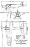 De Havilland DH.85 3-view NACA-AC-186.png