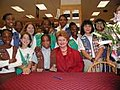 Debbie Stabenow 081401girlscouts.jpg