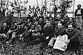Demonstratieve bijeenkomst werknemers in de scheepsbouw in Amsterdam Turkse wer, Bestanddeelnr 929-6528.jpg