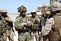 Deputy Commander of Regional Command (Southwest) visits the Delaram District Center 120627-M-KH643-011.jpg