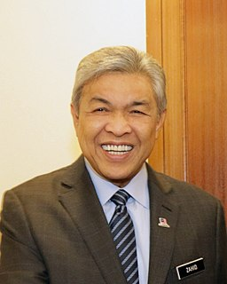 Ahmad Zahid Hamidi Malaysian politician