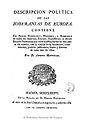 Descripción política de las soberanías de Europa 1786 p01.jpg