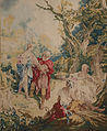 Designed by François Boucher, French - Tapestry showing Psyche and the Basketmaker - Google Art Project.jpg