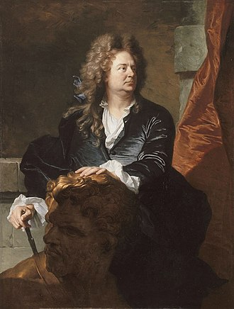 Martin Desjardins - The portrait of Martin Desjardins was the reception piece for Hyacinthe Rigaud to the Académie royale, 1692