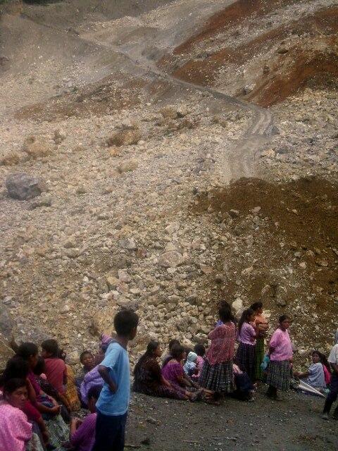 Deslave Cerro Los Chorros