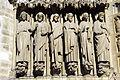 Detail of the west facade of Notre-Dame, Paris 13 April 2015 002.jpg