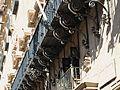 Detall dels balcons de l'ajuntament d'Alacant.JPG