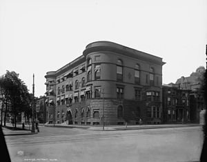 Detroit Club - The Detroit Club, c. 1903